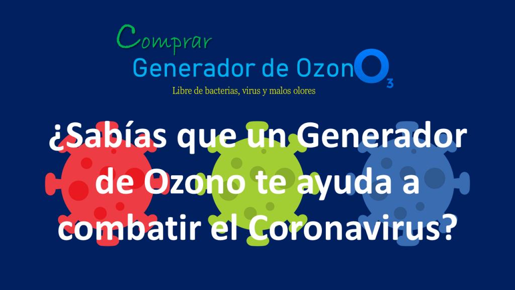 generador de ozono contra coronavirus