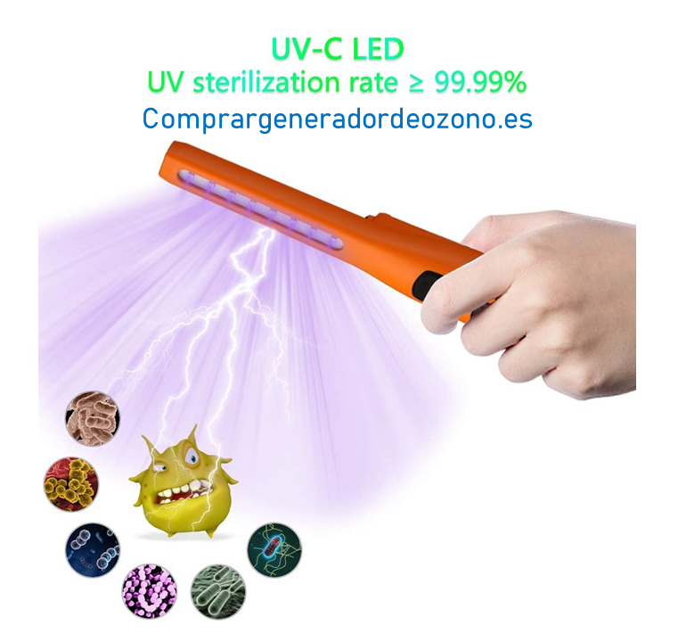 Lámpara desinfectante luz ultravioleta