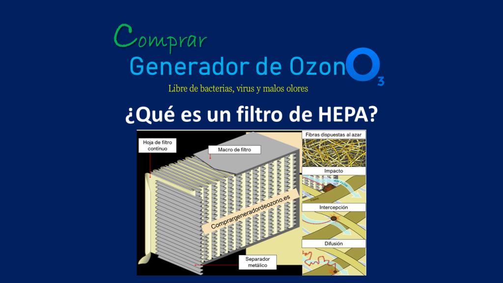 Qué es un filtro HEPA