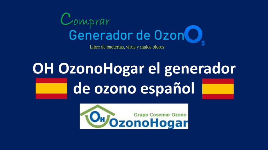 Marca española de generadores de ozono