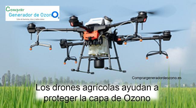 drones para cuidar la capa de ozono