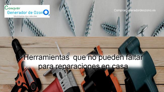 herramientas para reparaciones en casa